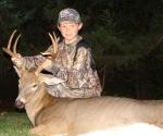 Jacob Morehead and his 09 Kansas Buck
