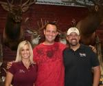 Brad with Lee & Tiffany Lakosky